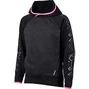 Reebok Girls' Performance Fleece Printed Hoodie