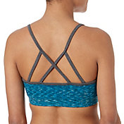 Reebok Women's Cotton Strappy Printed Sports Bra