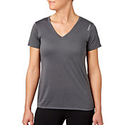 Reebok Women's Heather Performance V-Neck T-Shirt