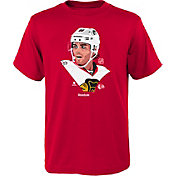 Reebok Youth Chicago Blackhawks Patrick Kane #88 Portrait Red T-Shirt