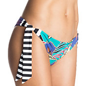 Roxy Women's Pop Surf Polynesia Knotted Surfer Bikini Bottoms
