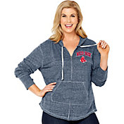 Soft As A Grape Women's Boston Red Sox Navy Hoodie