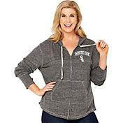 Soft As A Grape Women's Chicago White Sox Grey Hoodie - Plus Size