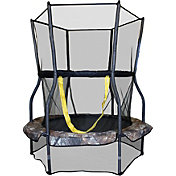 Skywalker Trampolines 48' Round Camo Mini Bouncer Trampoline with Enclosure