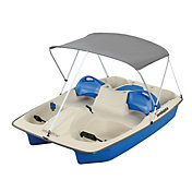 Sun Dolphin Sun Slider 5-Seated Pedal Boat with Canopy