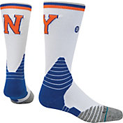 Stance New York Knicks On Court Crew White Socks
