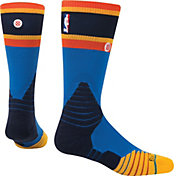 Stance Oklahoma City Thunder On Court Crew Blue Socks