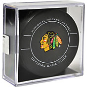 Sher-Wood Chicago Blackhawks Official Game Puck