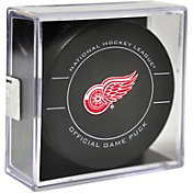 Sher-Wood Detroit Red Wings Official Game Puck