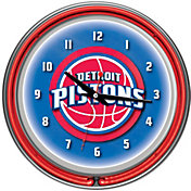 Trademark Games Detroit Pistons 14'' Neon Clock