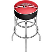 Trademark Games Carolina Hurricanes Padded Bar Stool