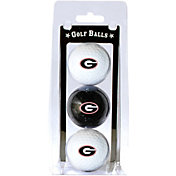 Team Golf Georgia Bulldogs Golf Balls - 3-Pack