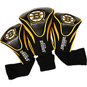 Team Golf Boston Bruins 3-Pack Contour Headcovers