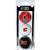 Team Golf Calgary Flames Three Pack Golf Ball Set