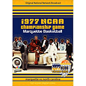 1977 NCAA Men's Basketball National Championship Game - Marquette vs. North Carolina DVD