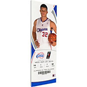 That's My Ticket Los Angeles Clippers Blake Griffin Debut Game Canvas Ticket
