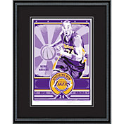 That's My Ticket Los Angeles Lakers Kobe Bryant Sports Propaganda Framed Serigraph