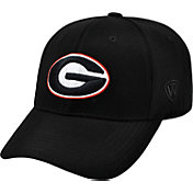 Top of the World Men's Georgia Bulldogs Black Premium Collection M-Fit Hat