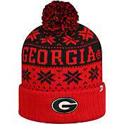 Top of the World Men's Georgia Bulldogs Red/Black Sub Arctic Knit Beanie