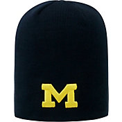 Top of the World Men's Michigan Wolverines Blue TOW Classic Knit Beanie