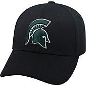 Top of the World Men's Michigan State Spartans Black Premium Collection M-Fit Hat