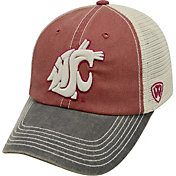 Top of the World Men's Washington State Cougars Crimson/White/Black Off Road Adjustable Hat