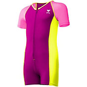 TYR Girls' Solid Thermal Swimsuit