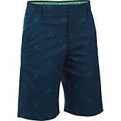 Under Armour Boys' Match Play Printed Golf Shorts