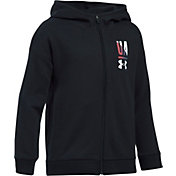 Under Armour Girls' Favorite Fleece Full Zip Hoodie