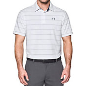 Under Armour Men's Playoff Wedge Stripe Golf Polo