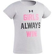Under Armour Toddler Girls' Girls Always Win T-Shirt