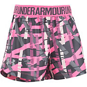 Under Armour Toddler Girls' Shifting Ladders Play Up Shorts