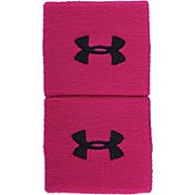 Under Armour Power In Pink Wristbands