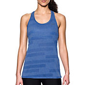Under Armour Women's Threadborne Train Jacquard Print Tank Top