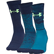 Under Armour Kids' Phenom Curry Basketball Crew Socks