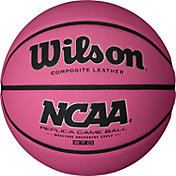 Wilson NCAA Replica Pink Youth Basketball (27.5')