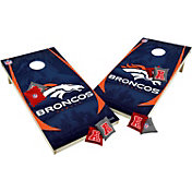 Wild Sports 2' x 4'  Denver Broncos Tailgate Bean Bag Toss Shields