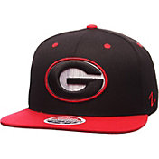 Zephyr Men's Georgia Bulldogs Red/Black Z11 Snapback Hat