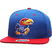 Zephyr Men's Kansas Jayhawks Blue/Crimson Z11 Snapback Hat