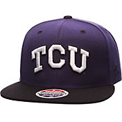 Zephyr Men's TCU Horned Frogs Purple/Black Z11 Snapback Hat