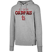 '47 Men's St. Louis Cardinals Headline Grey Pullover Hoodie