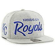 '47 Men's Kansas City Royals Honshu Captain Grey Adjustable Snapback Hat