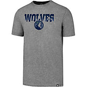 '47 Men's Minnesota Timberwolves Grey T-Shirt