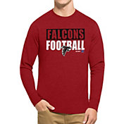 '47 Men's Atlanta Falcons Club Red Long Sleeve Shirt