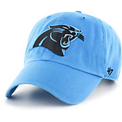 '47 Men's Carolina Panthers Blue Clean-Up Adjustable Hat