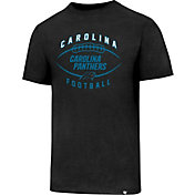 '47 Men's Carolina Panthers Club Football Black T-Shirt