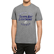 '47 Men's Tampa Bay Lightning Club Grey T-Shirt