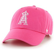'47 Women's Los Angeles Angels Clean Up Pink Adjustable Hat