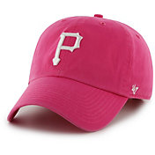'47 Women's Pittsburgh Pirates Clean Up Pink Adjustable Hat