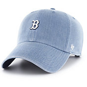 '47 Women's Boston Red Sox Burkhart Denim Clean Up Adjustable Hat